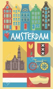 Amsterdam-Retro-Drawing