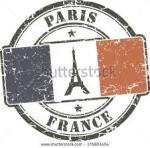 france paris stamp